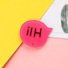 20 шт. английский привет! Акриловый Шарм для диалогов, 15 цветов, 31*41 мм, для самостоятельного изготовления ювелирных изделий, брелок, аксессуа...(Китай)