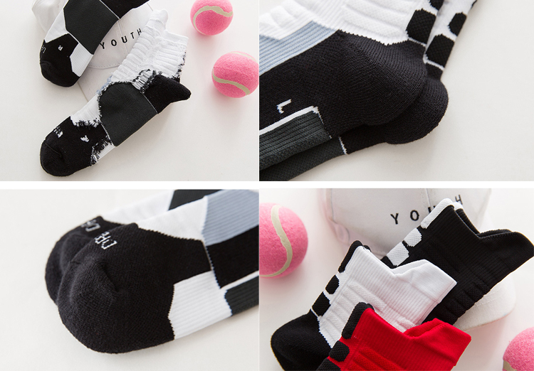 wholesale sports men cotton crew sock manufacturer sports sock