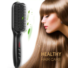 Wholesale manufacturer hair salon products PTC fast heating Men and Women Hair styler Ceramic beard Straightener hair Brush