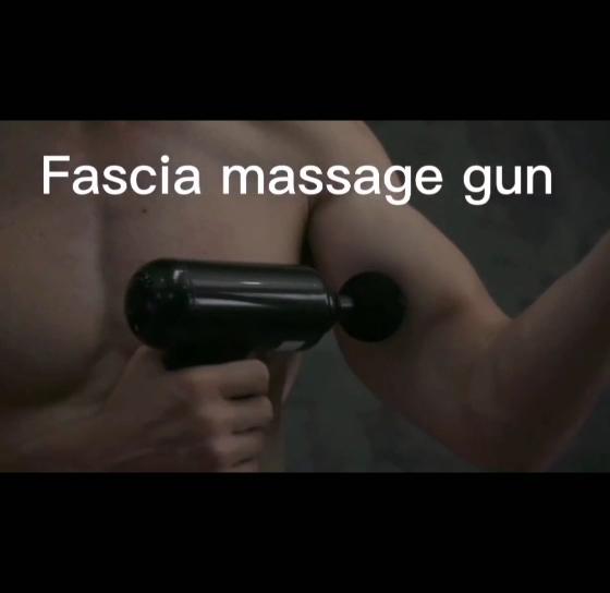Elektrik derin titreşimli doku fasya kas masaj tabancası