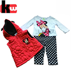 china suppliers baby suit long sleeved kids clothes sets baby wear 3 pcs baby clothing cotton sets