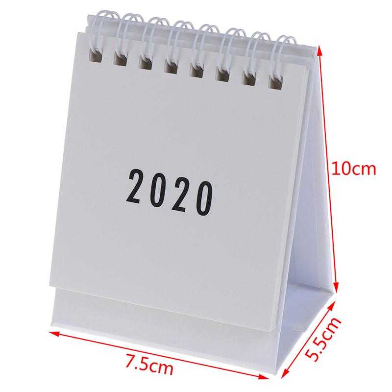 Лидер продаж 2020, планировщик, настольный планировщик, ежедневник на год, настольный органайзер, 1 шт., 2020, свежие Мультяшные животные, настоль...(Китай)
