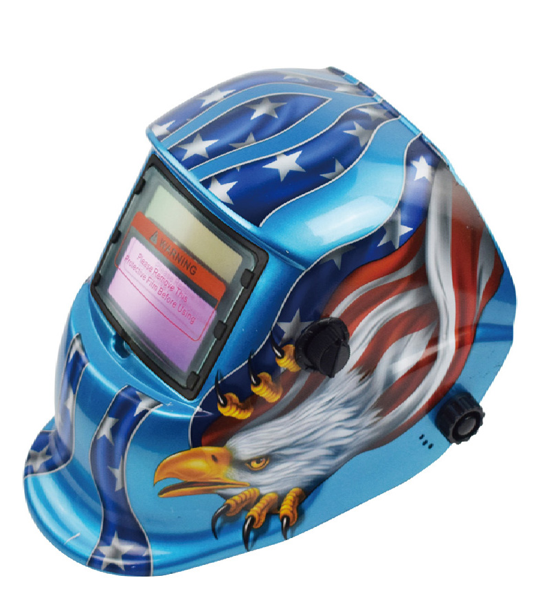 UNISON custom logo new type headgear en379 welding helmet