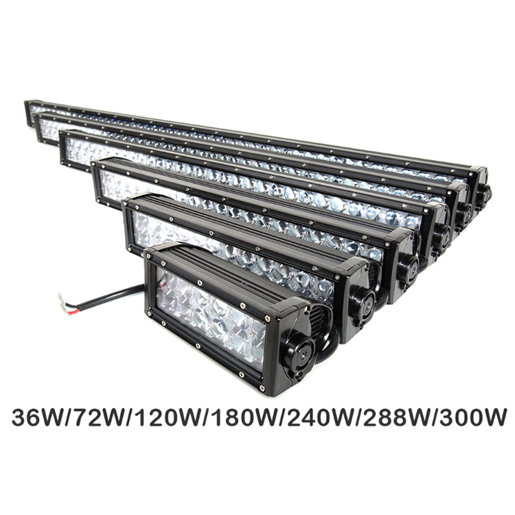 Kompak Kuat Grosir 12 V 31.5 Inci Offroad IP67 CE RoHS 4X4 Hyperspot 4D LED Light Bar dengan cree Chip