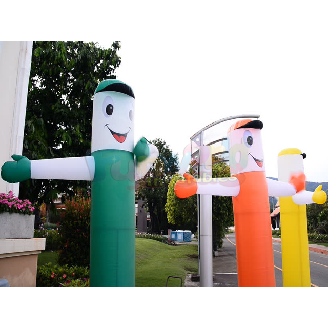 Custom outdoor advertising inflatable air sky dancer tube man