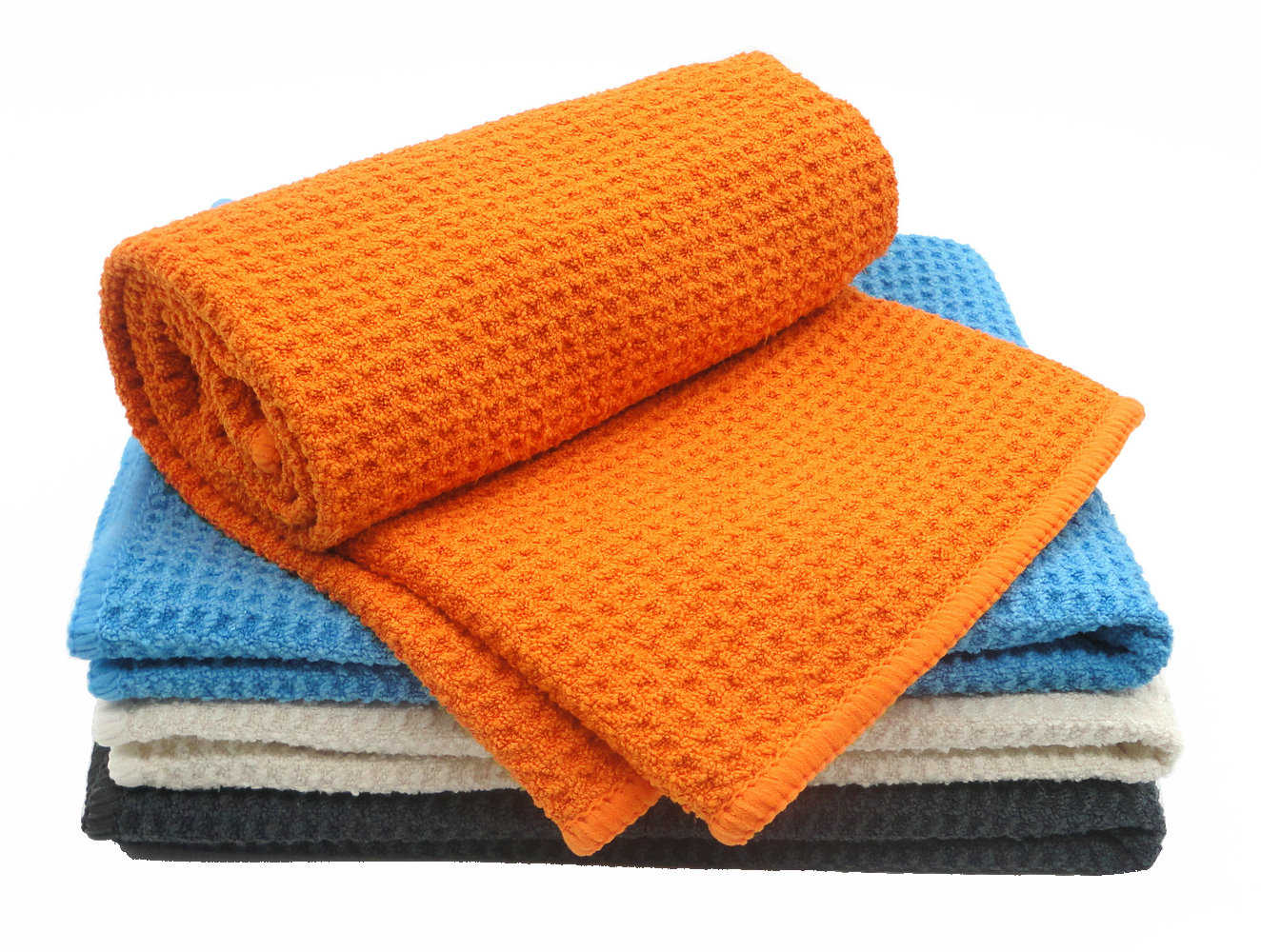 Hot sell high quality cleaning cloth waffle towel
