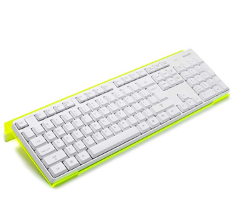 5mm acrylic tilted computer keyboard holder riser for easy ergonomic typing keyboard stand