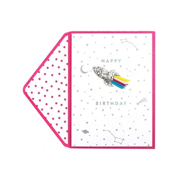 2019 New Products Office Stationery 3D Handmade Birthday Invitation Cards, Free Samples Designs Handmade Birthday Greeting Cards