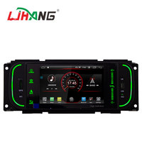 Android 9.1 system 2+16G 5 inch screen car stereo for Chrysler JEEP DODGE car video radio with 8GB map card