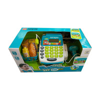 Children Pretend Play Shopping at Toy Store Shop With Calculating Cash Register Supermarket Set Role Play Toy