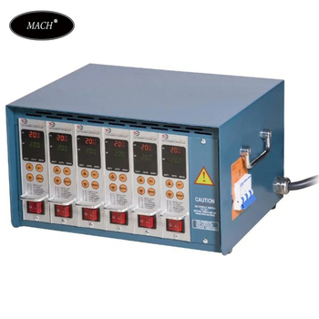 12 Zone Hot Runner digital Temperature Controller For Injection Mold