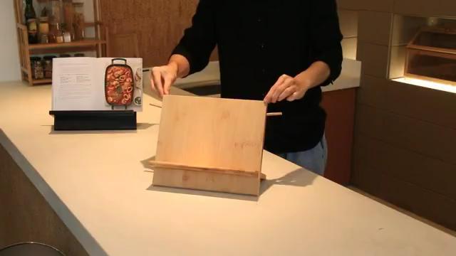 Large Capacity Powerful Magnetic Bamboo Wood Kitchen Knife Organizer Block and Storage