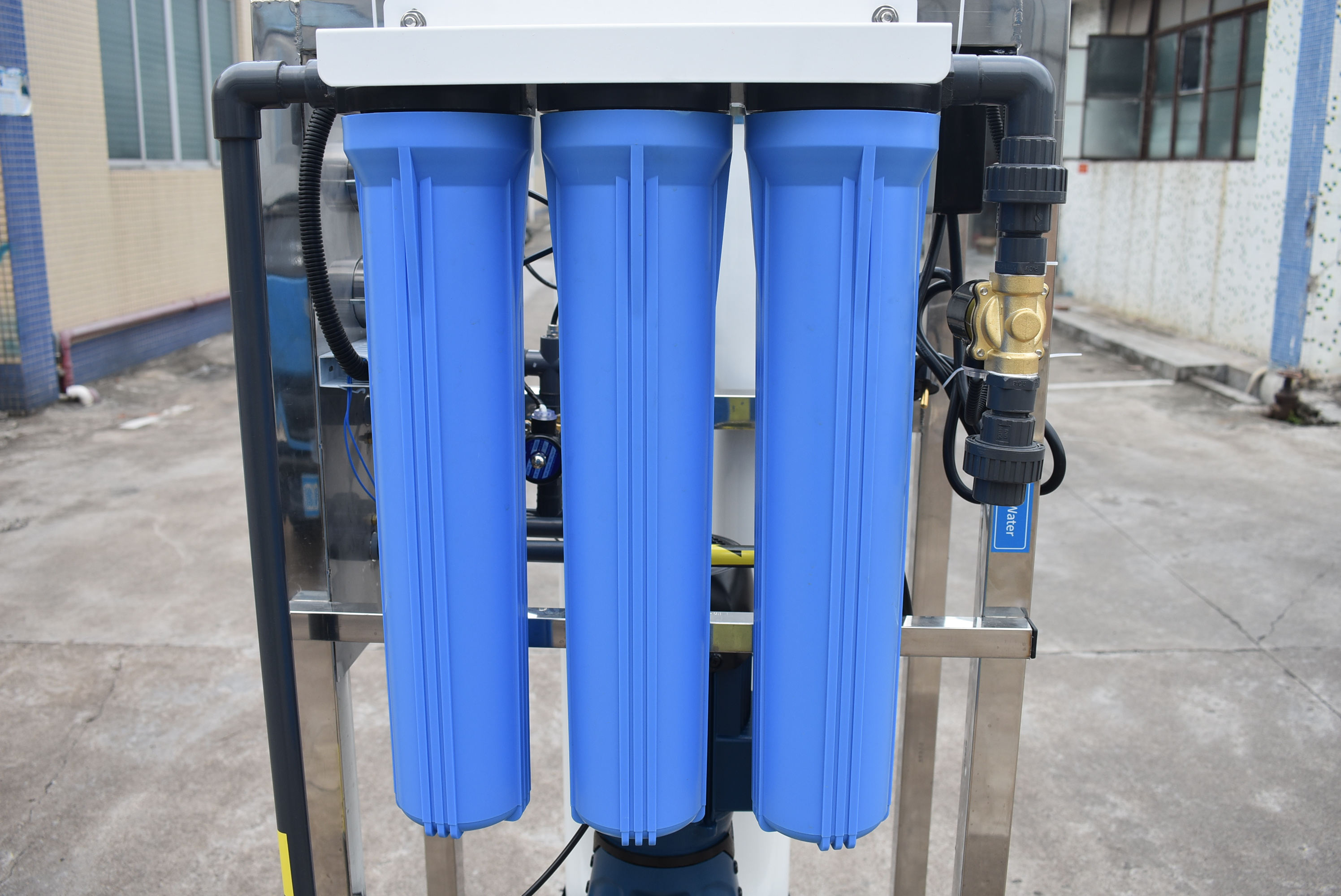 Water Treatment Plant RO 500LPH Industrial Reverse Osmosis System Cost