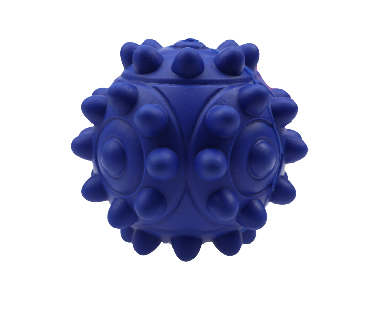 Solid  rubber  dog  ball     Treat Dispensing toy  Chewing Bite Resistant Rubber Puppy Tooth Toys Outdoor Throwing Dog Toys