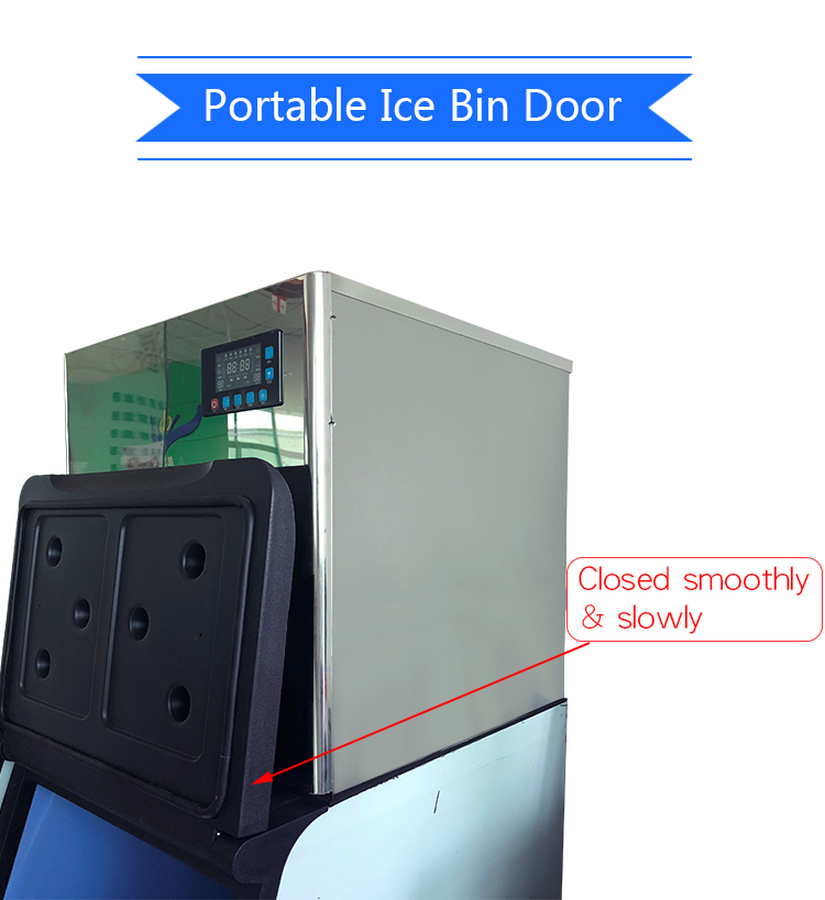 Best Mini Domestic Big Cube Crystal Clear Ice Maker