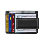Wallet Men Wallet Manufacturer Slim Minimalist Bifold Front Pocket Wallet RFID Blocking Anti-magnetic Magnet Money Clip For Men