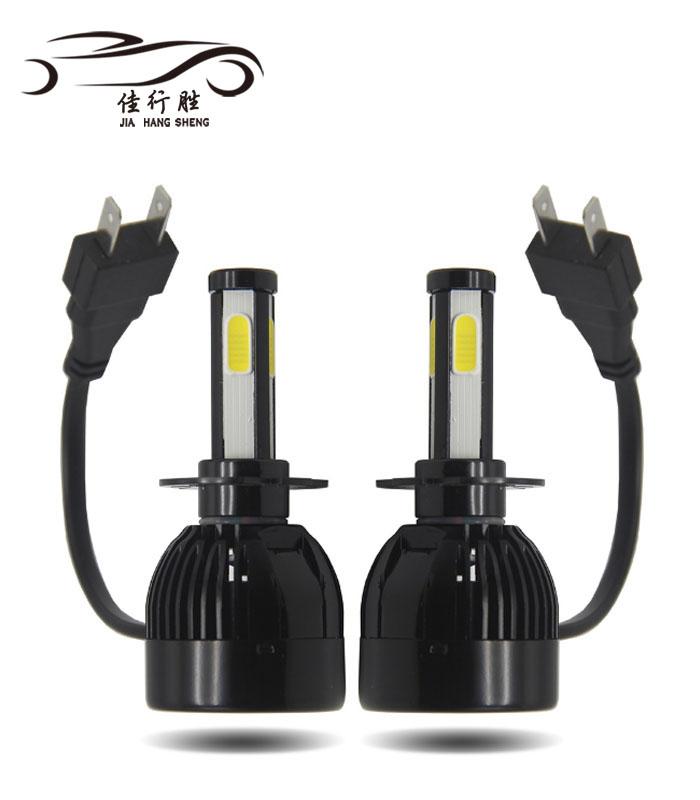Gtr Lighting Auto C6 Bulb H4 Auxbeam Led Car Headlight