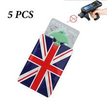 Металлический держатель для карт с защитой от радиочастотного считывания, алюминиевый чехол для карт, защитный чехол с радиочастотной защи...(Китай)