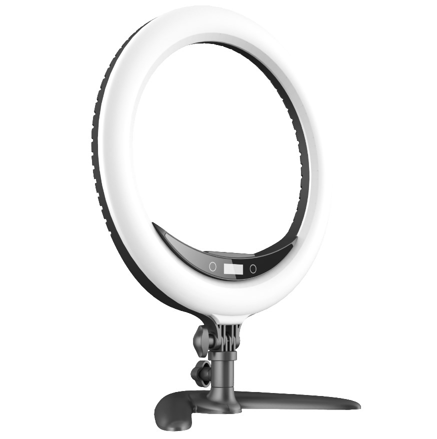"Dropshipping draagbare fotografische studio video mettle 14 ""24W 240 PCS cirkel statief led lamp ring licht voor telefoon led selfie"