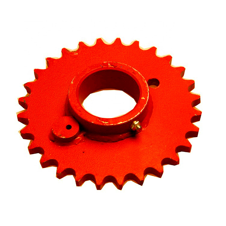 Factory direct sales agriculture machinery sprocket 28 tooth for baler parts