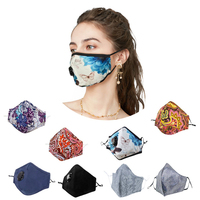n95 cotton reusable nose warmer face mouth mask anti pollution dust pm2.5