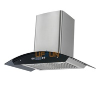 900mm elegant 3 speed touch button blower motor range hood for kitchen exhausted