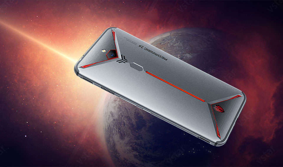 Original New ZTE Nubia Red magic 3S Snapdragon 855 Plus 8GB 128GB 12GB 256GB unlocked gaming phone 6.65 inch 5000mAh battery
