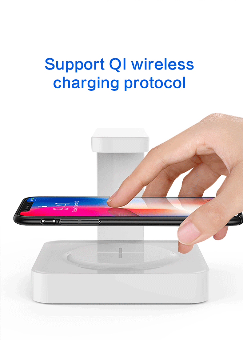 UV sterilizer with Wireless Charger suitable for disposable and N95 Mask