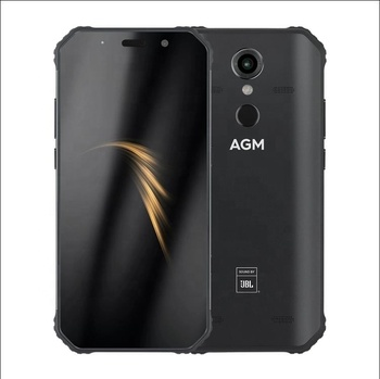 AGM A9 5400mAh 3G+32 or 4G+64g Rugged Mobile Phone IP68 Waterproof 5.99inch 18:9 dual Cameras Fingerprint 4G LTE Smartphone