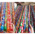 110*2.2cm 120*2.2cm Flat Handle Type colorful broom handles pvc cover wooden mob stick