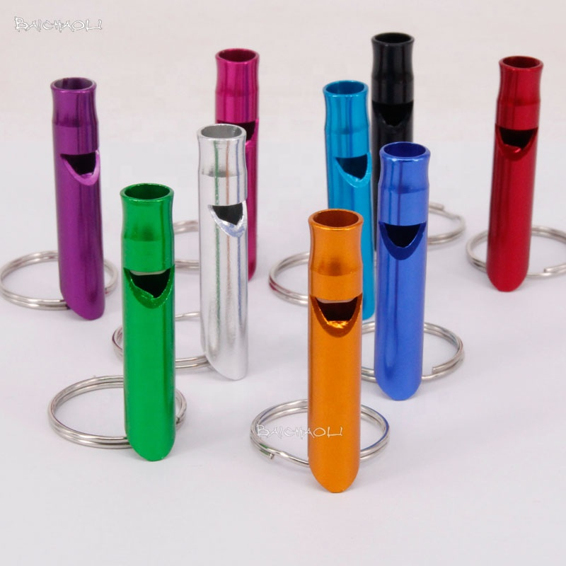 Baichaoli 9*47 Aluminum alloy whistle
