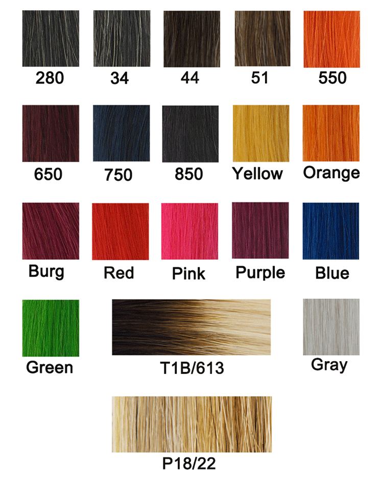 European skin weft tape in human hair extensions