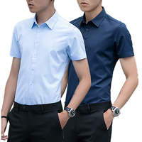 Hot Selling New Short Sleeve Polo Casual Formal Office Custom Men Shirts