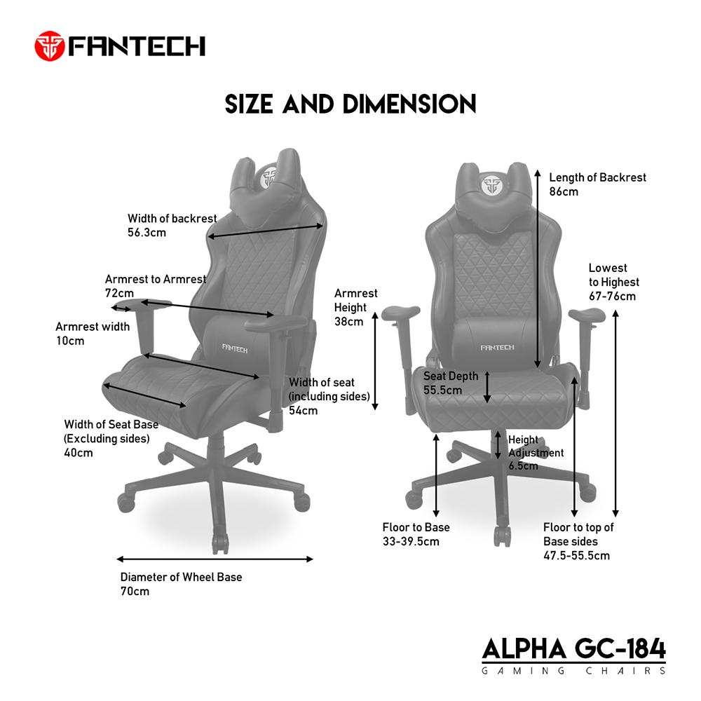 FANTECH Alpha GC-184 Gaming Chair 9
