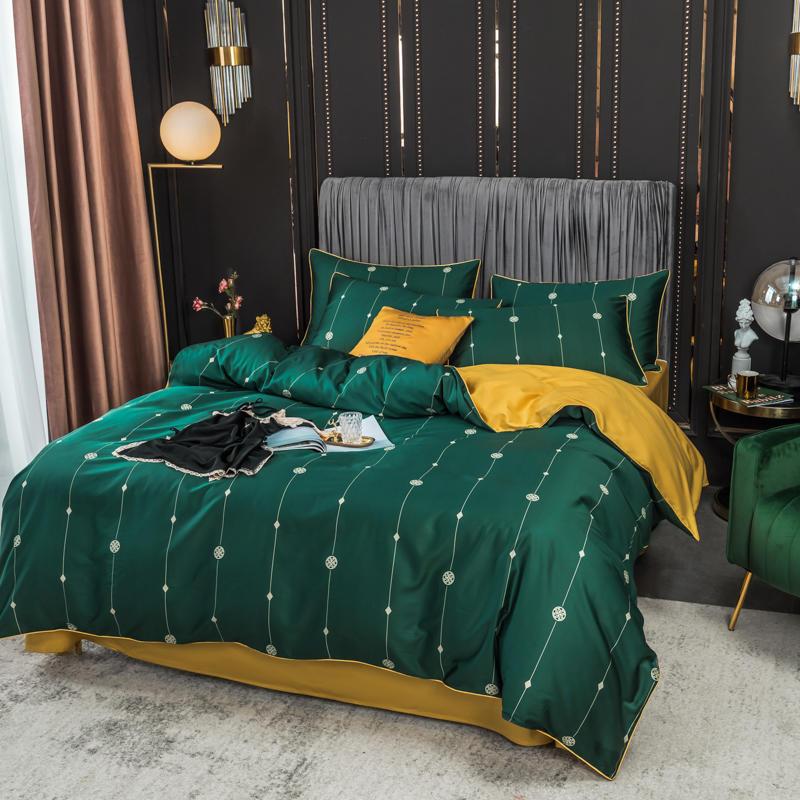 Bettwäsche Bettwäsche Sets Luxus Designer Druck Marken Bettwäsche Sets