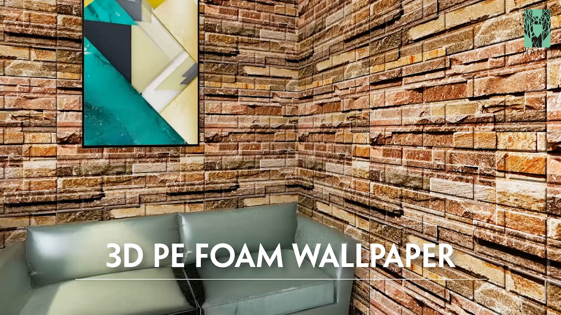 Factory Direct Self Adhesive Wallpaper 77 70CM 3d pe Foam