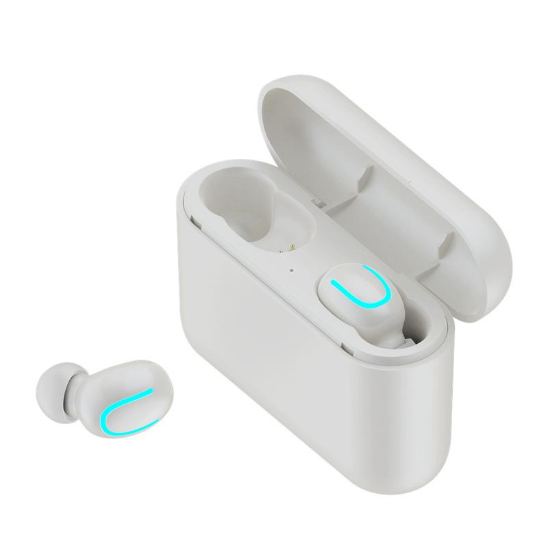 TWS Bluetooth 5.0 Earphones Ture Wireless Earbuds Handsfree Q32 Mini Sports Headphone Gaming Headset with 1500mAh Power Bank - idealBuds Earphone | idealBuds.net