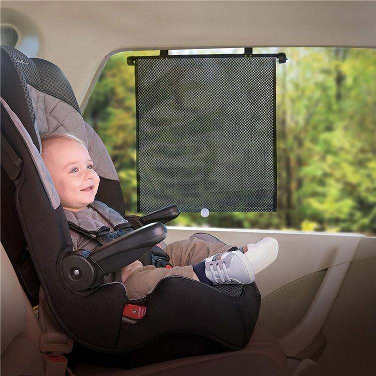 Car Window Sun Shade UV Protection Curtain Car Sunshade Film Visor Front Windshield Sun Shade Cover