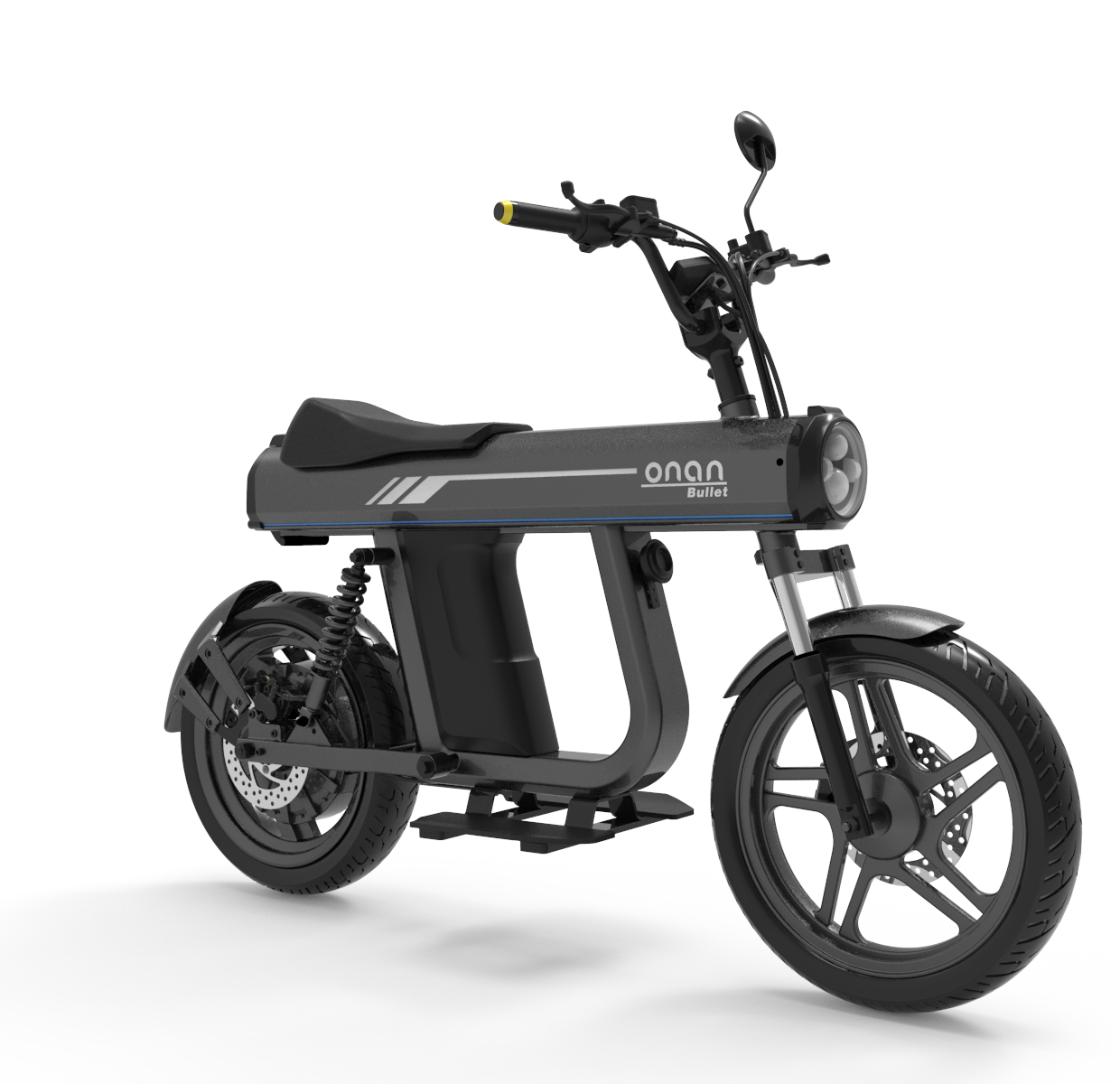 ONAN Newest Bullet Automatic convenient Electric Motorcycle 2000W  For Sale