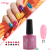Kamayi wholesale 2019 new style factory price popular colors 3 step uv gel nail polish for nail art beauty