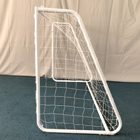 Promotional mini metal soccer goal soccer training equipment