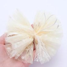 1 шт., 5 см марлевые заколки для волос, имитация жемчуга, банты, заколки для волос, кружевные заколки для волос в виде банта, аксессуары для вол...(Китай)