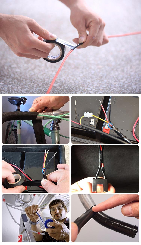 Coloré PVC ruban isolant Électrique