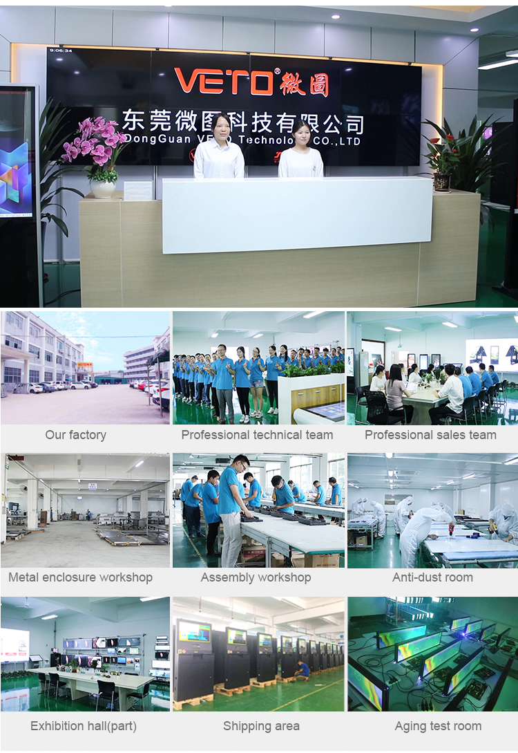 55 inch ultra slim double sided digital display ceiling hang LCD screen signage