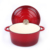 enamel cast iron cookware thermal casserole dish with round Loop handle