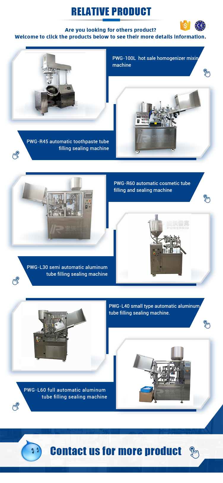 Face wash packaging machine ointment packing machinery tube filling and sealing machine