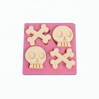 Kitchen Bake Tools Halloween decoration 3d Silicone Mousse Cake Mold