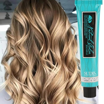 wholesale private label non allergic italian blonde color hair dye spray bright red hair dye non organic permanent