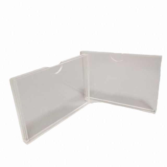 Trending hot products acrylic card excellent quality card slot Acrylic