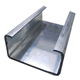 Q235 SS400 gi c channel weight hot dipped galvanized c steel profile
